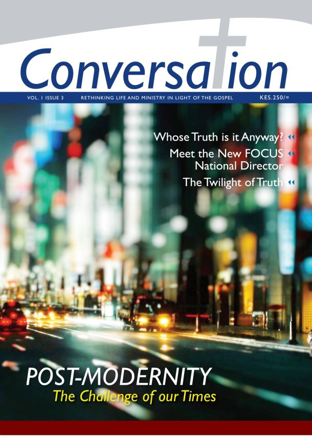 Conversation issue 3 front page