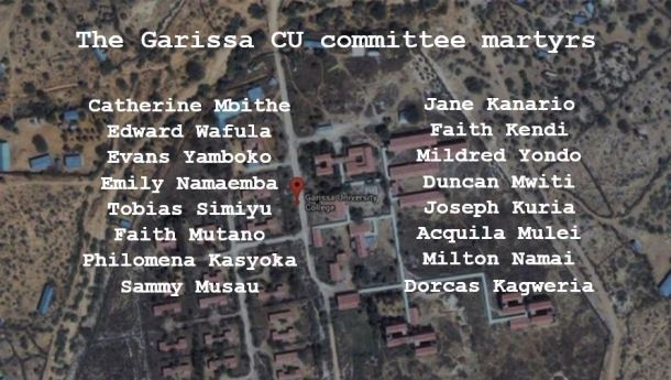 Garissa CU committee martyrs