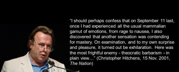 Hitchens 9-11 quote