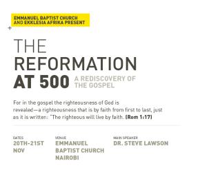Reformation Conference at EBCNairobi